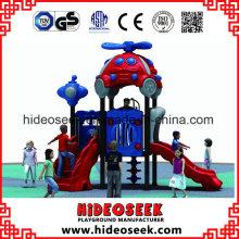 Campo de jogos ao ar livre plástico do divertimento das crianças