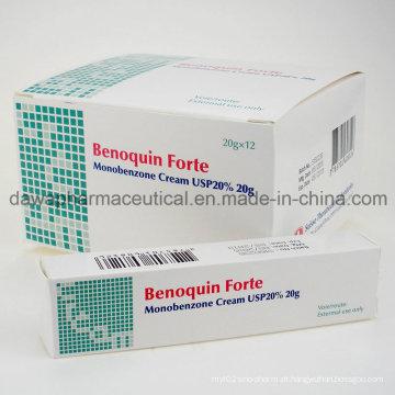 Preço de Fábrica para Whiten Pele Vitiligo Monobenzone Creme