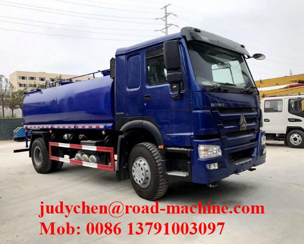 336hp 20000 Liters Sinotruk Howo Water Tank Truck