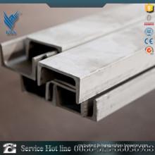 Alibaba fournisseur 304L barre de canal en acier inoxydable pour machine