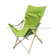 Bamboo Folding Beach Chairs, OEM orders are welcome