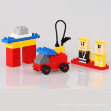 23PCS ABS Building Block jouet bricolage