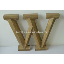 Wooden Craft Letters Made in Wooden Home Decoration