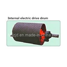 Poulie électrique interne pour convoyeur à bande