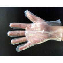Luvas plásticas da mão das luvas médicas descartáveis do PE da segurança