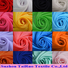 Polyester Chiffon Dying for Garment Textile with High Quality