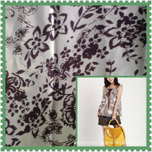 water printing Satin Fabric for Fashion Dress customize-made
