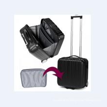 """Maleta de equipaje de viaje en 17 """"tomada por avión"""