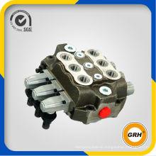 China High Quality Hydraulic Manual Control Monoblock Valve