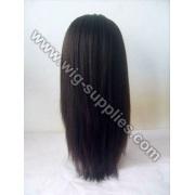 Chinês peruca de senhoras de cabelo sedoso reta 18 polegadas 1b