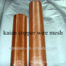 hot sale!!!!! anping KAIAN 60mesh pure copper woven wire mesh(30 years factory)
