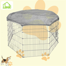 Outdoor galvanized portable pet dog runs/enclosures/fence for sale
