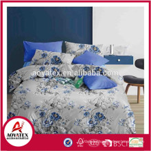 A-B side fashion style high quality disperse printing polyester comforter sets