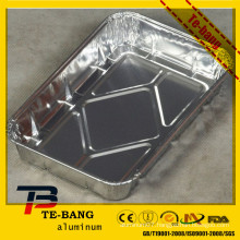Sealable & Retortable Aluminum Tray with Lids