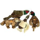Pet Plush Stuffed Dog Toy (Supply Chew Bite Dog with Squeaker)