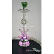 GH072-LT Borosilikatglas Wasserpfeifen Shisha / Nargile / Wasserpfeife / mit LED-Licht / Sheesha / Narguile