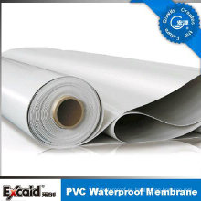 Hoja ULTRAVIOLETA anti de la prenda impermeable del PVC del garaje / material de techumbre con ISO (azul)