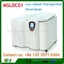 MSLDC01 Tisch-Typ Niedergeschwindigkeits-Kältezentrifuge