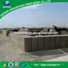 Hesco defense wall galvanized military hesco barrier supplier on alibaba