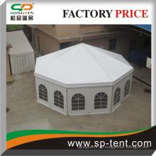 Neu gestaltete runde Zelt mit Futter für Hochzeitsfeier Bankett Veranstaltungen