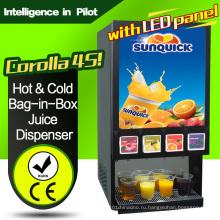 (Со светодиодной панелью) Диспенсер для сока с коротким и холодным мешком-в-коробке-Corolla 4s