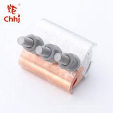 JB-TL Pince de rainure parallèle en cuivre-aluminium pour conducteur de câble