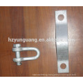 power utility pole hardware fitting electric transmission line metal accessories overhead cable fitting