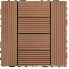 WPC DIY Decking Tile für den Außenbereich mit CE