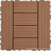 WPC DIY Decking Tile for Outdoor Use with CE