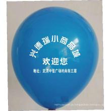 Balões de promoção de látex personalizados para publicidade