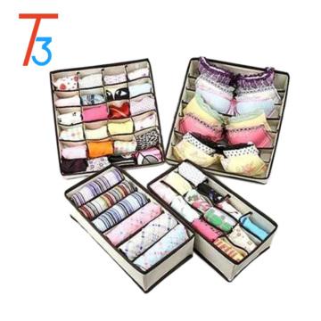 Organización de suministros para el hogar / Almacenamiento de ropa interior / Caja de organizador de ropa interior