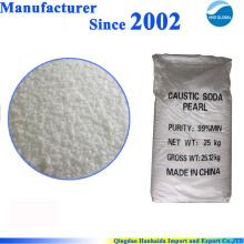 Производство Китай высокое качество поставок каустической соды жемчуг 99%