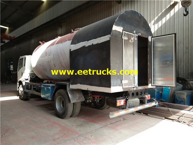 SINOTRUK LPG Dispenser Tank Trucks
