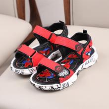Sandales d'été anti-dérapantes pour garçons avec semelle souple