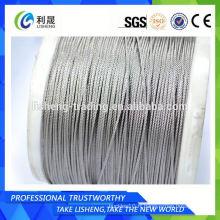 Produits de câbles de fil de production de 1x19 1.5mm
