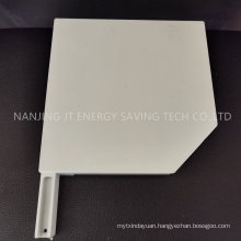 Roller Shutter Accessories/Rolling Blind Component, 45 Degree Painted Aluminium End Caps