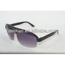 Nouveau design de lunettes de soleil wayfarer demi-trame