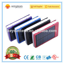 Universal Smart portable mobile charger solar power bank 50000mah 10000mah 12000mah 20000mah powerbank