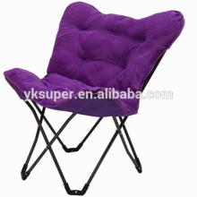Atacado preguiçoso cadeira de campo sem armação / cadeira de borboleta quadro