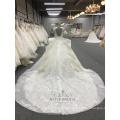 Atacado New arrivals lindo Ruffle Embroidery Designs 2018 WT288 vestido de noiva
