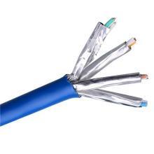 CAT6A 10 Gigabit 500MHz Blindé SSTP Câble Ethernet à cuivre nu