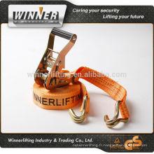 l'usine de la vente directe en acier inoxydable cravate à cliquet