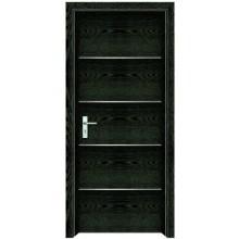 porta de madeira interior