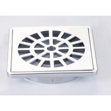 Chrome ABS Plastic Floor Drain