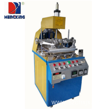 Three sides plastic tray edge folding machine