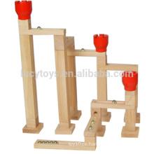 Hochwertige Kugellager Spiel Speedway Set Holz Marmor Lauf Spielzeug