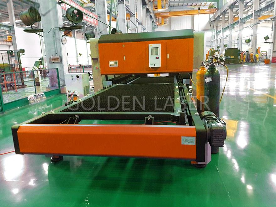 fiber metal laser cutting machine GF-1530JH