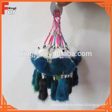 Fur Pendant / Mink Fur Keychain