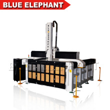 Máquina de grabado del router del CNC de la espuma, máquina del router del CNC del proceso del EPS