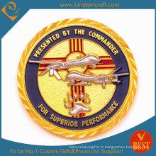 Prix de l'usine d'approvisionnement US Military Challenge Metal Coin